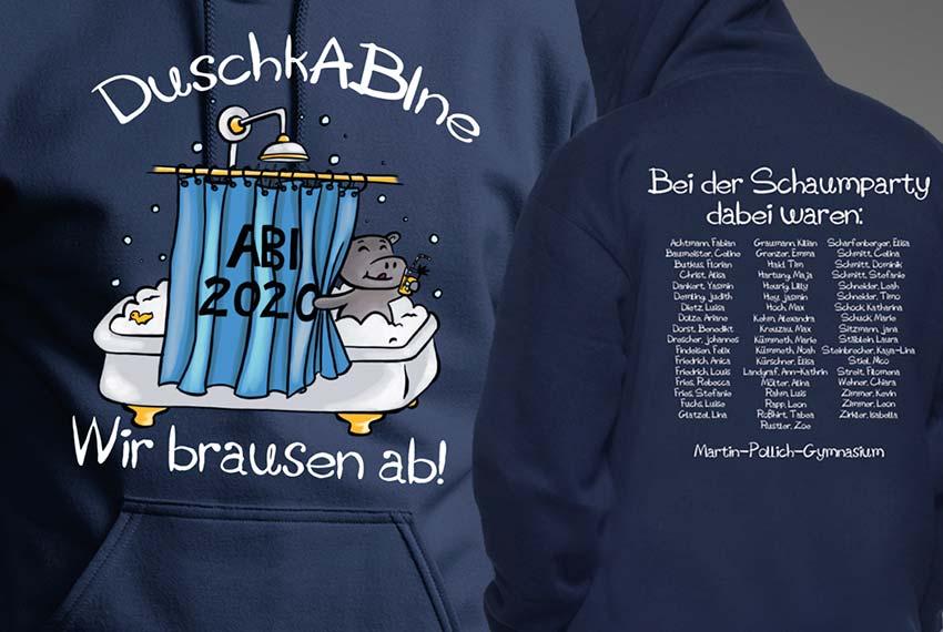 Druckwelt-Trabert-Ostheim-Textildruck-Abipulli