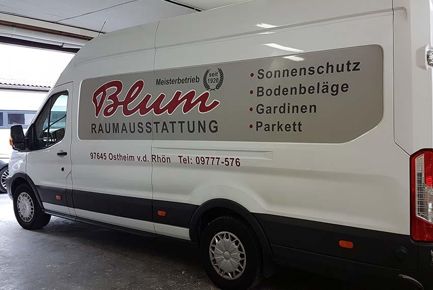 Druckwelt-Trabert-Ostheim-Werbetechnik-Folierung-Blum